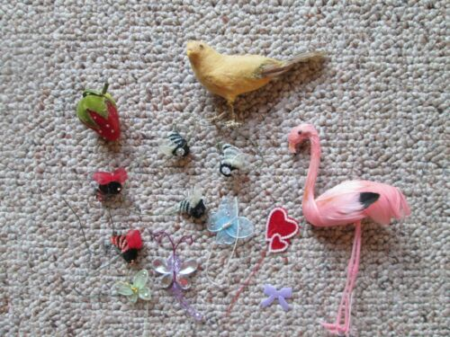 Vintage Lot of Millinery Craft Items