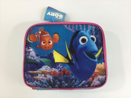 Nemo Finding Dory Sparkly Lunch Box NWT 9x7.5 Lunch Box 2 Zi