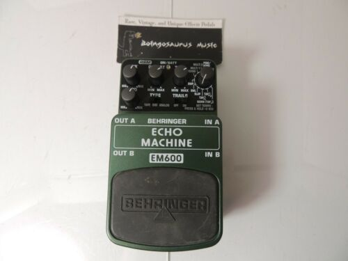 Behringer EM600 Echo Machine Effects Pedal Free USA Shipping