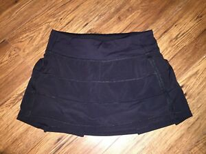 Lululemon Black Tennis  Skort Size 4