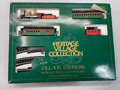 Department Dept 56 Heritage Village Express HO Scale Trains & Tracks Please Read