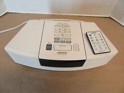 BOSE Wave Radio CD Player Alarm Clock Model AWRC-1P White