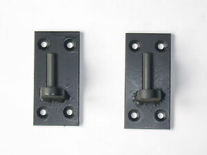 Iron gate hinge bracket / hanger with 12mm  thick pin