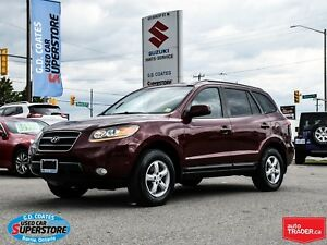 2009 Hyundai Santa Fe GL AWD ~V6 ~Heated Leather ~Power Moonroof