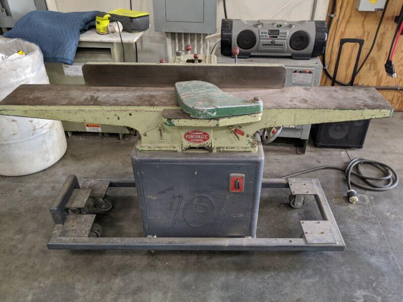 Powermatic Model 60 Jointer