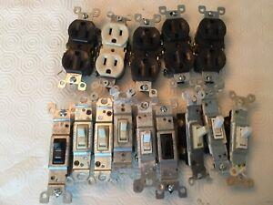 Electrical plugs and light switches