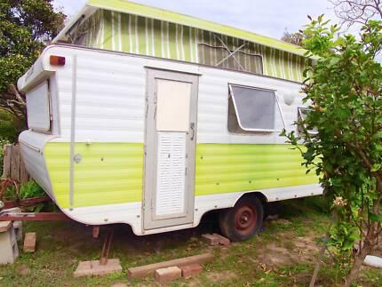 Viscount Ambassador Pop Top Caravan w Bunks Urunga Bellingen Area Preview