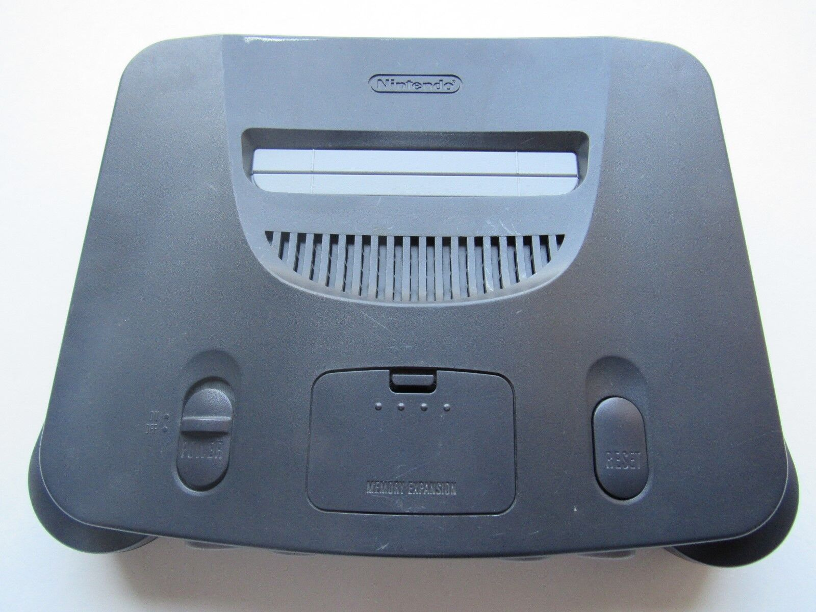 *GOOD* Nintendo 64 N64 Video Game Console Selection Funtastic Pokemon Gold PICK! Charcoal Grey *Console & Jumper Pack*