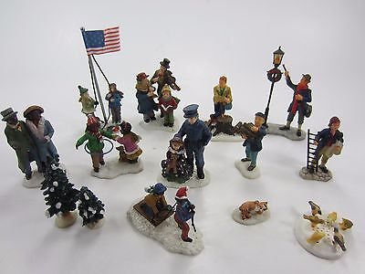 CAROLE TOWNE by LEMAX Figures People Christmas Village ACCESSORY Lot 3