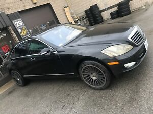 2007 MERCEDES S550 BLACKED OUT AMG EXHAUST