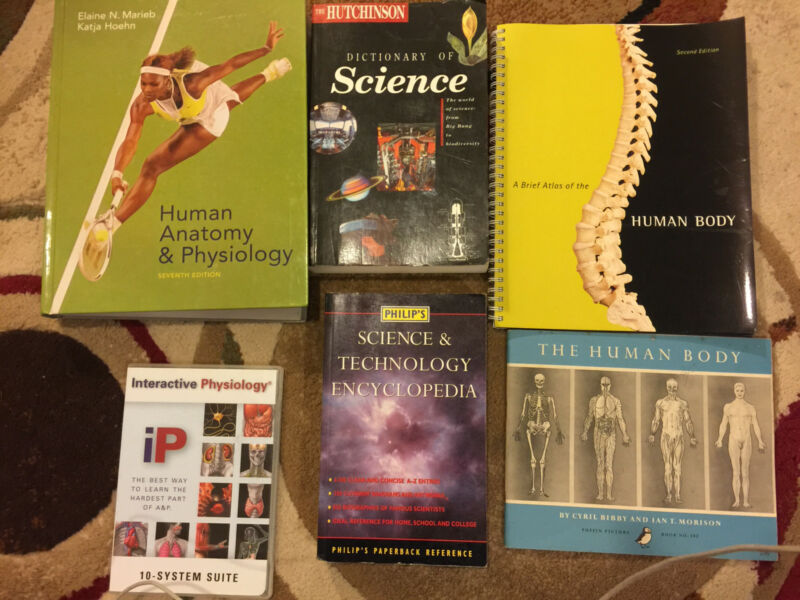 Human anatomy & Physiology Book & DVD. Science Books | Textbooks ...
