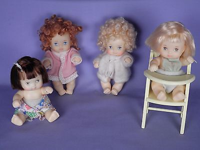 SWEET HTF Hasbro Love-A-Bye Baby Doll Lot Original Clothes with High Chair