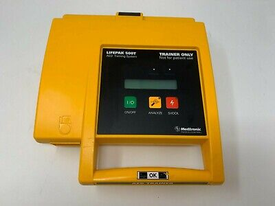 Lifepak 500t Aed Training System And Carry Case - Refurbished