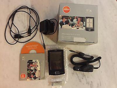 Palm TX Handheld Organizer PDA Bundle In Box - TESTED