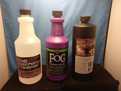 Fog Machine Liquid (Halloween & Party Smoke Fog Fluid ..FOG MACHINE CLEANER..PARTY FOG LIQUID)