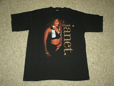 RARE vtg 1993 Janet Jackson Hip Hop RnB Tour T Shirt size S-4Xl Reprint V1000