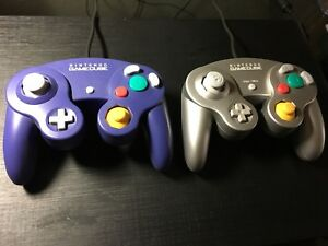 Two Nintendo GameCube Controllers
