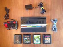 Atari 2600 JR Console AV modded + 4 Games + RCA Cable + Joystick Bexley Rockdale Area Preview