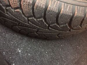 Tires winter on rims 14 inch 4x100