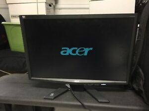 Acer X223W lcd computer monitor for sale