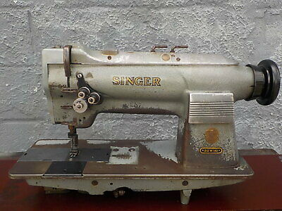 Industrial Sewing Machine 212w140 Grey Two Needle -leather