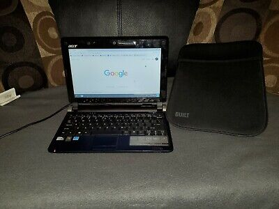 Acer Aspire One 10.1'' Chrome style Notebook 1GB Ram 1.6 GHz Intel CPU 160 GB HD