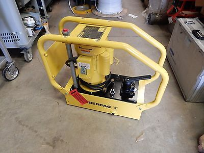 Enerpac We Series Hydraulic Pump Wex4 5000psi Single Acting Manual 32 Valve New