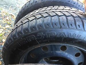 215/65R17 winter tires with rims