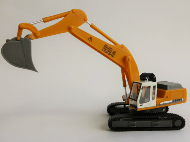 Liebherr R954 Litronic Raupenbagger 1/87 Herpa 148931 Bagger Crawler Excavator