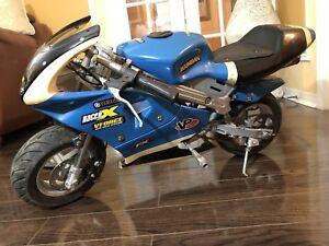 **SOLD** 49/50cc Pocket Bike! Runs and Drives!