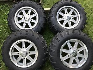 14'' atv tires and rims
