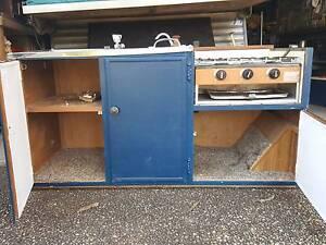 Flip up kitchen from pop up camper Chuwar Brisbane North West Preview