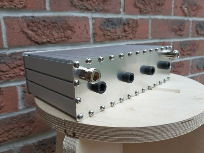 INTERMOD, UHF Preselector Bandpass Filter, 5MHz Bandwidth, tunable 430 to 450MHz