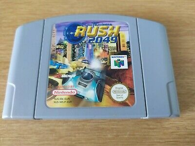 San Francisco Rush 2049 - Nintendo 64 Video Game, N64, PAL - Ultra Rare & VGC