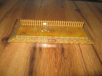 Antique VTG Hornby Meccano Train Station Platform Ramp Rare Tin Toy England
