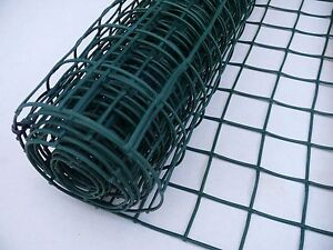 Plant Garden Mesh 0.5mx5m Plastic Fencing Support Protective Clematis Net Green