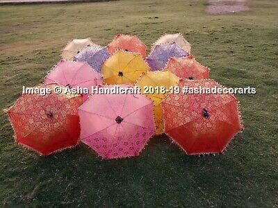 Étnico Handmade Boda Parasol Paraguas Sombrillas Hippie Mesa Patio Deco