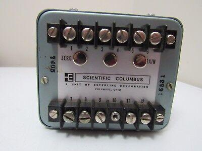 Scientific Columbus Wt34-2k5-a5 Watt Transducer
