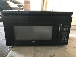 Fully working Over the range microwave with bracket