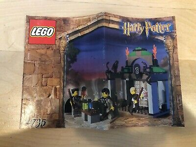Lego Harry Potter Chamber Of Secrets Slytherin 4735 With Manual Rare  2002