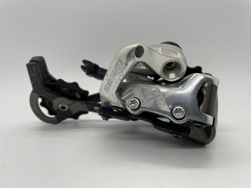 SRAM XX 10 Speed Ceramic Pulleys MTB Rear Derailleur Black VERY GOOD USED