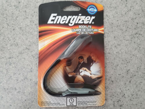 NEW Energizer LED Booklite, Clips on Book, Reading Light