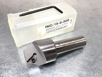 Everede 12 - .838 Indexable Countersink 60 Inc. Angle Ind-18-6-500