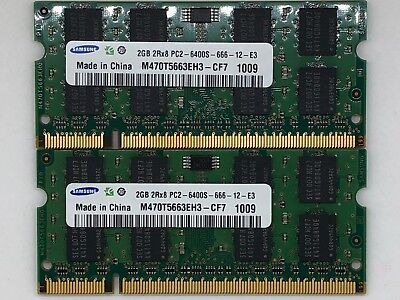 4GB KIT RAM for Acer Aspire 5738 3D (2x2GB memory)(B4)