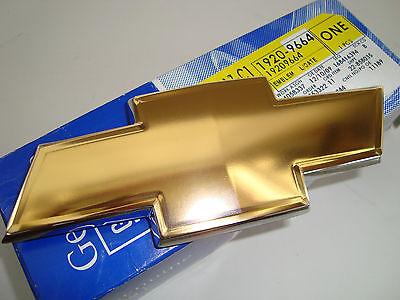 CHEVROLET Bow Tie Emblem Suburban Silverado Colorado HHR Uplander Chrome edge