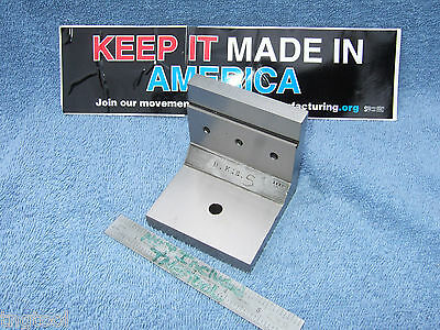 Watchmaker Angle Plate Step 1920 Machinist Toolmaker Hardened Grind Fixture