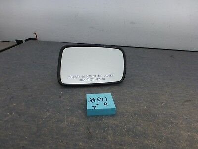 2002-2008 BMW 7-Series 745 760 E65 E66 OEM RIGHT Door Mirror Glass Autodim  #691