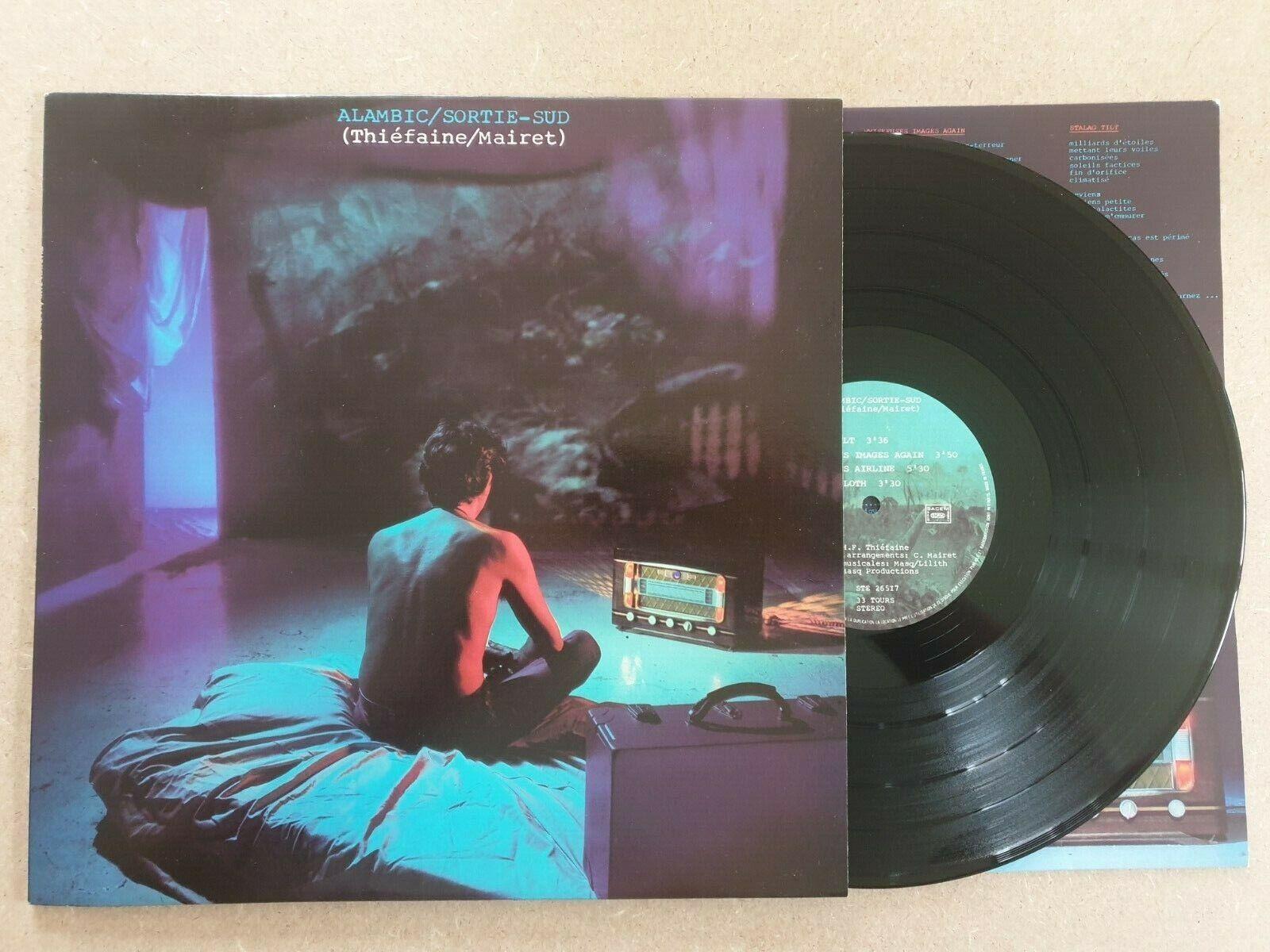 H.f. thiefaine / mairet alambic / sortie sud ste 26517 vinyl album lp