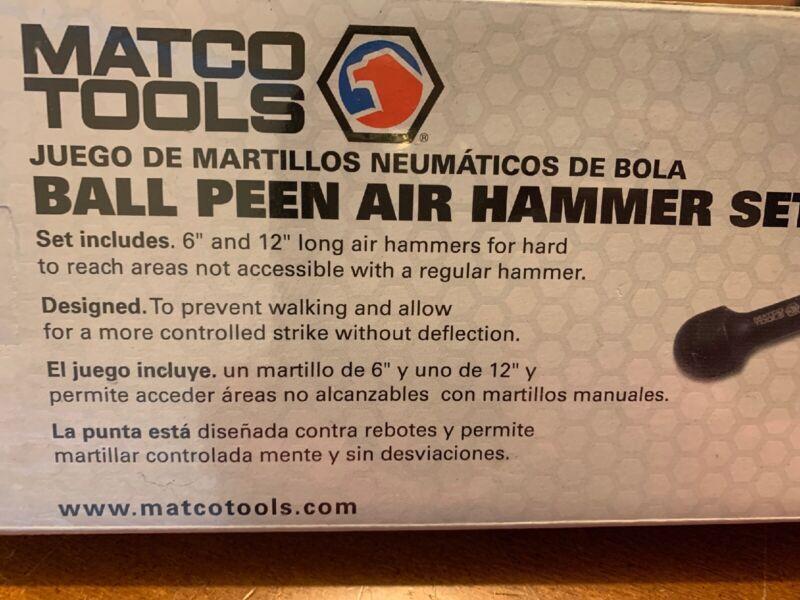 Matco Tools Ball Peen Air Hammer Set BHP2