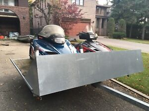 Great 2 Snowmobile and Trailer Package or Separate